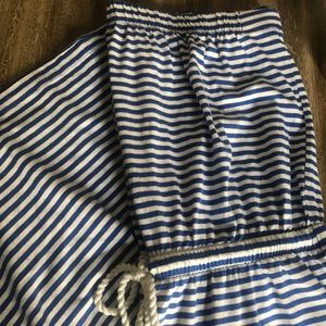 GAP cotton striped dress